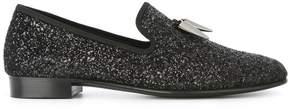 Giuseppe Zanotti Design Spacey glitter slippers