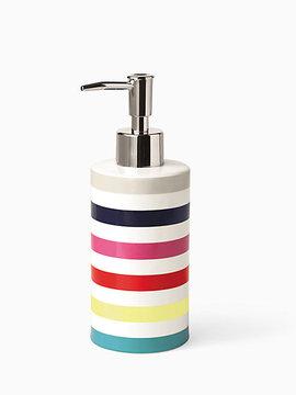 Candy stripe lotion dispenser
