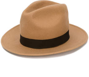 DSQUARED2 wide brimmed fedora