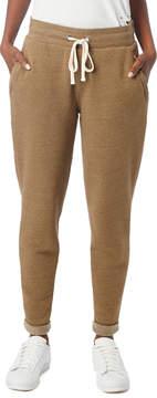 Alternative Apparel Mid Rise Eco-Fleece Zip Jogger Pants