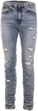 R 13 Leyton Ripped Jeans
