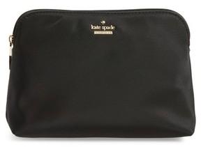 Kate Spade Small Classic Briley Nylon Cosmetics Case