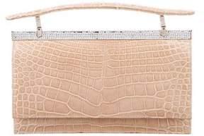 Judith Leiber Embellished Alligator Evening Bag