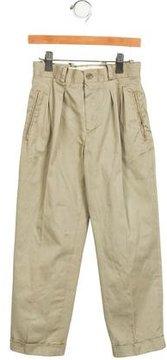 Bonpoint Boys' Pleated Straight-Leg Pants