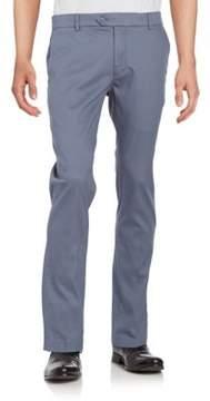 Black & Brown Black Brown Bedford Cord Pants