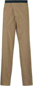 Kolor asymmetric front chinos
