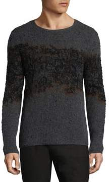 John Varvatos Knitted Crew Sweater