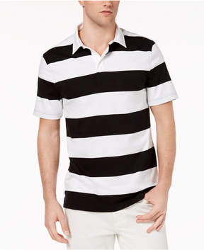 Club Room Men's Rugby Stripe Polo, Created for Macy's