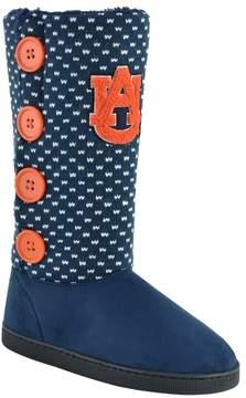 NCAA Women's Auburn Tigers Button Boots