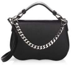 Calvin Klein Small Leather Shoulder Bag
