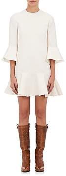Valentino Women's Ruffled Wool-Silk Dress