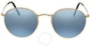 Ray-Ban Round Silver Flash Sunglasses