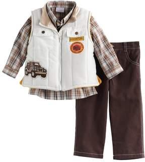 Nannette Toddler Boy Truck Vest