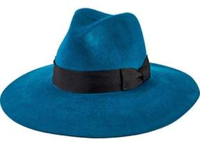 San Diego Hat Company Women's Brushed Wool Floppy Fedora With Bow Wfh8050.