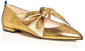 Sarah Jessica Parker Farah Bow Pointed Toe Ballet Flats - 100% Exclusive