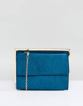 New Look Suedette Chain Shoulder Bag