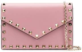 Valentino Rockstud wallet on a chain