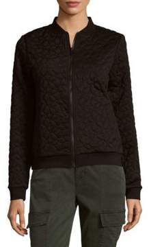 Cynthia Rowley Quilted Bomber