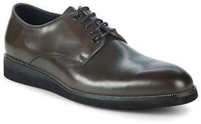 Karl Lagerfeld Men's Classic Leather Derbys