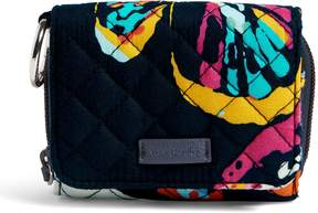 Vera Bradley Iconic RFID Card Case - PAISLEY STRIPES - STYLE
