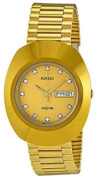 Rado Diastar All Gold Tone Stainless Steel Men's Watch