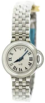 Bedat & Co 827.021.600 No. 8 Stainless Steel Diamond 31mm Womens Watch