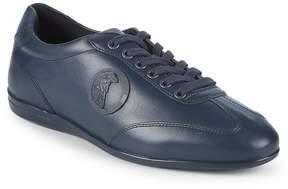 Versace Men's Medusa Leather Sneakers
