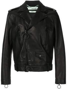 Off-White Firetape biker jacket