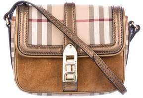 Burberry Haymarket Check Crossbody Bag