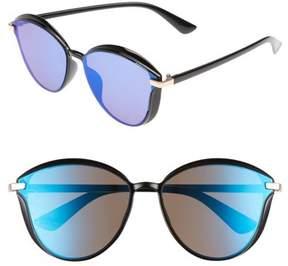 BP Women's Mirrored Sunglasses - Black