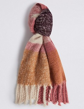 Marks and Spencer Tassel Blanket Scarf