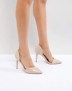 Miss KG Two Part Perspex Detail Point High Heels