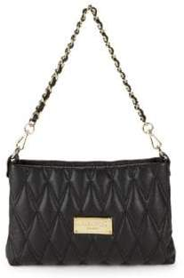 Mario Valentino Vaniled Quilted Leather Shoulder Bag