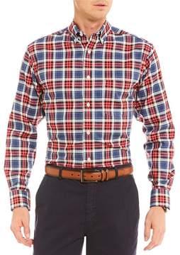 Daniel Cremieux Signature Tartan Plaid Long-Sleeve Woven Shirt