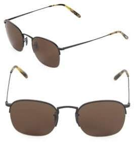 Oliver Peoples 51MM Clubmaster Sunglasses