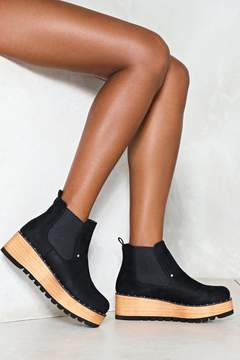 Nasty Gal nastygal Call the Shots Platform Boot