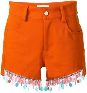 Au Jour Le Jour beaded trim shorts