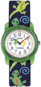 Timex Easy Reader Kids Print Fabric Strap Watch T728819J