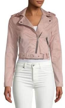 C&C California Zip Belted Jacket