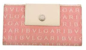 Bvlgari Canvas Logo Wallet