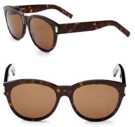 Saint Laurent 54MM Round Sunglasses