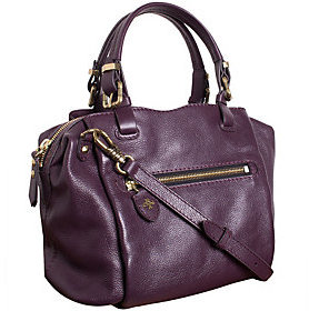 As Is orYANY Pebble Leather Satchel - Alexis