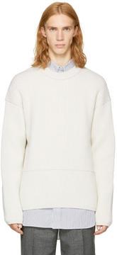 Acne Studios Off-White Njal Sweater