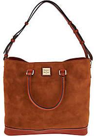 Dooney & Bourke Suede Chelsea Tote Handbag
