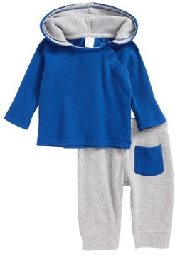 Nordstrom Infant Boy's Thermal Hooded T-Shirt & Pants Set