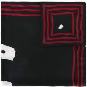 Kenzo woven scarf