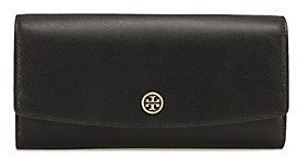 Tory Burch Parker Envelope Continental Wallet - BLACK - STYLE