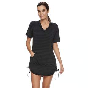 Free Country Women's Hooded Swim Cover-Up