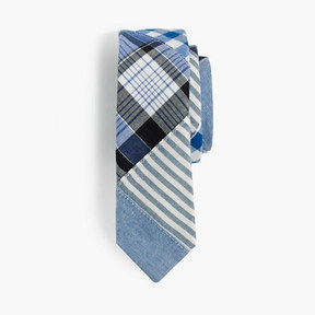 J.Crew Boys' cotton tie in patchwork