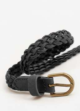 MANGO Braided belt
